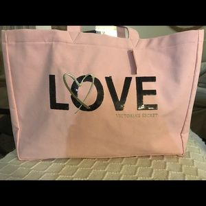 Victoria's Secret open tote bag - new with tags